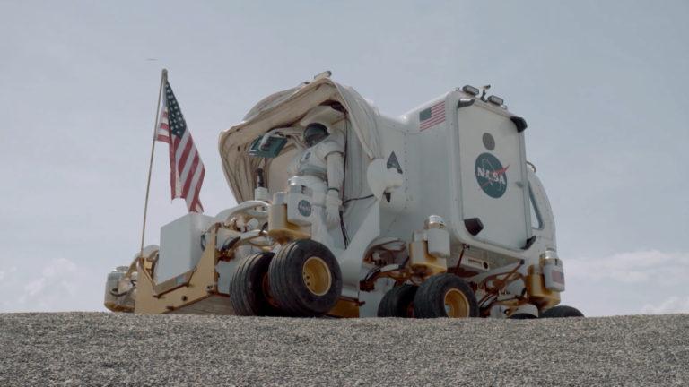 Magyarok a Holdon - Marsjáró