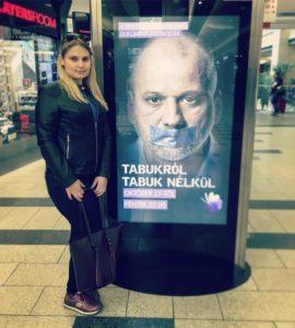 Tabukról tabuk nélkül 1. évad plakátja a Westendben velem